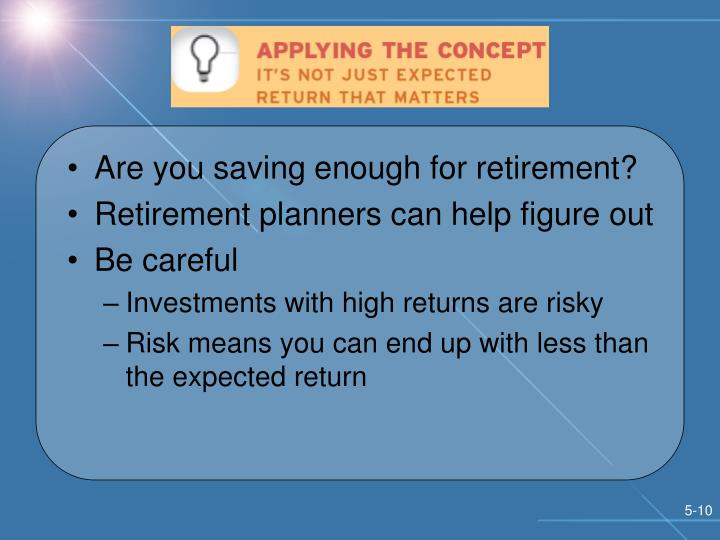 Are you saving enough for retirement?
