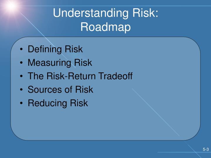 Understanding risk roadmap
