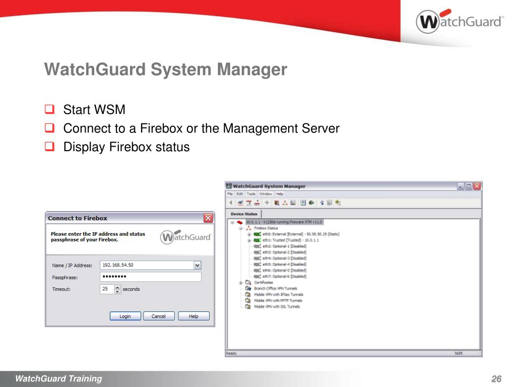 download watchguard system manager