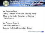 controlled unclassified information cui the new marking system what s ahead for dod and dtic