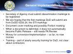 general implementation