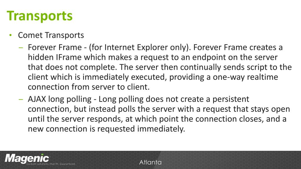 PPT - SignalR PowerPoint Presentation - ID:7060588