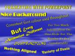 presenting with powerpoint
