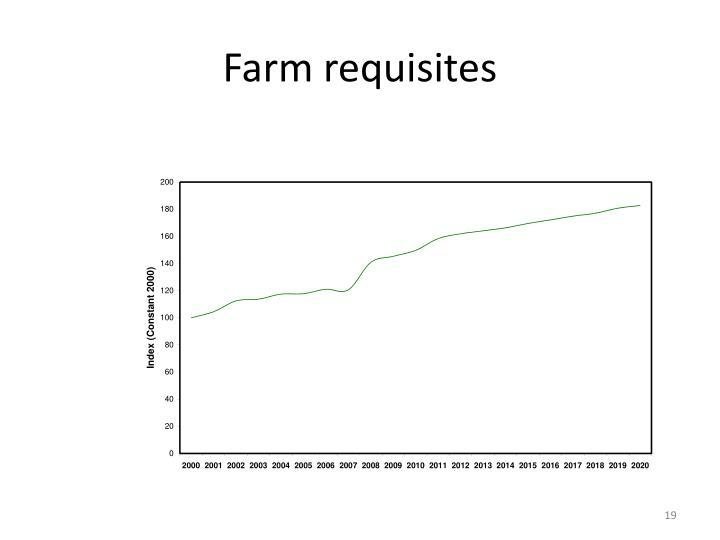 Farm requisites