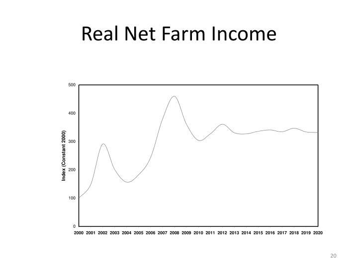Real Net Farm Income