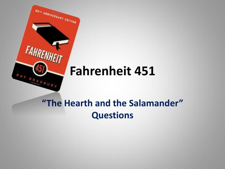 technology used in fahrenheit 451