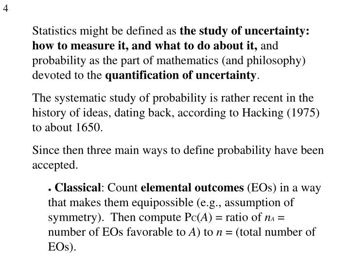 Statistics might be defined as