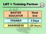 lnt training partner