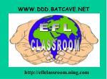 www ddd batcave net