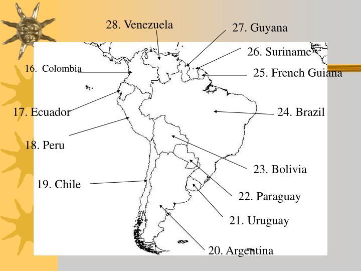 28. Venezuela