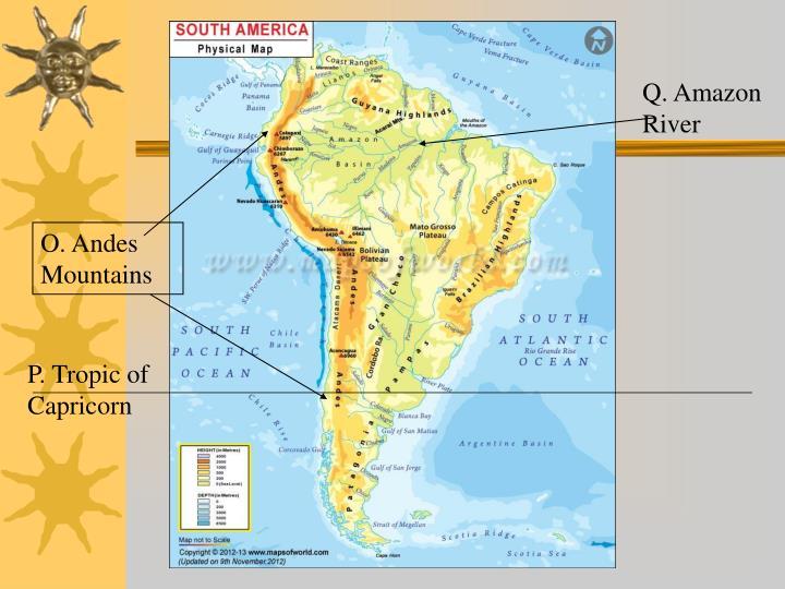 Q. Amazon River