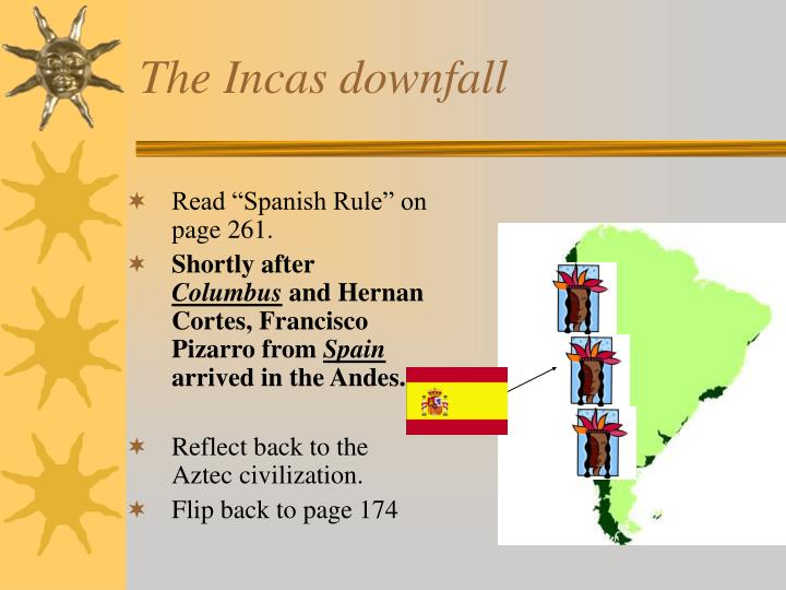 The Incas downfall