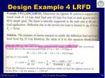 design example 4 lrfd