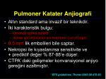 pulmoner katater anjiografi