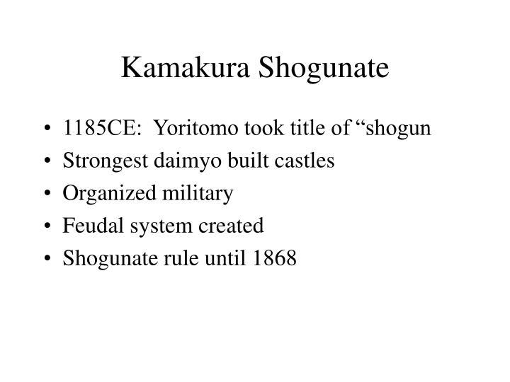 Kamakura Shogunate