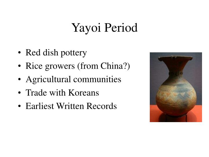 Yayoi Period