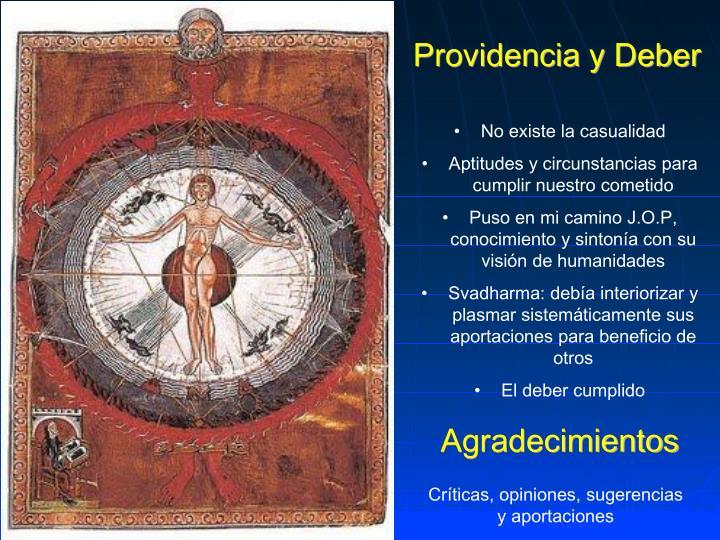 Providencia y Deber