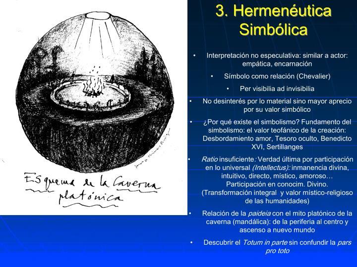 3. Hermenéutica Simbólica