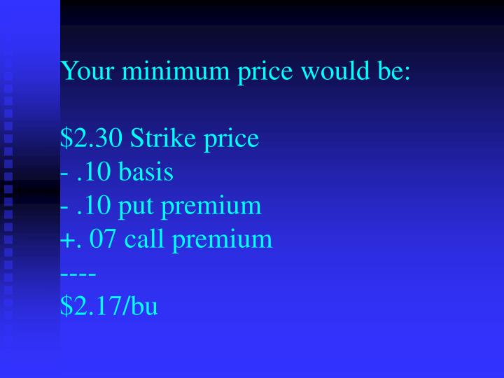 Options strategies ppt