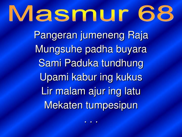 Masmur 68