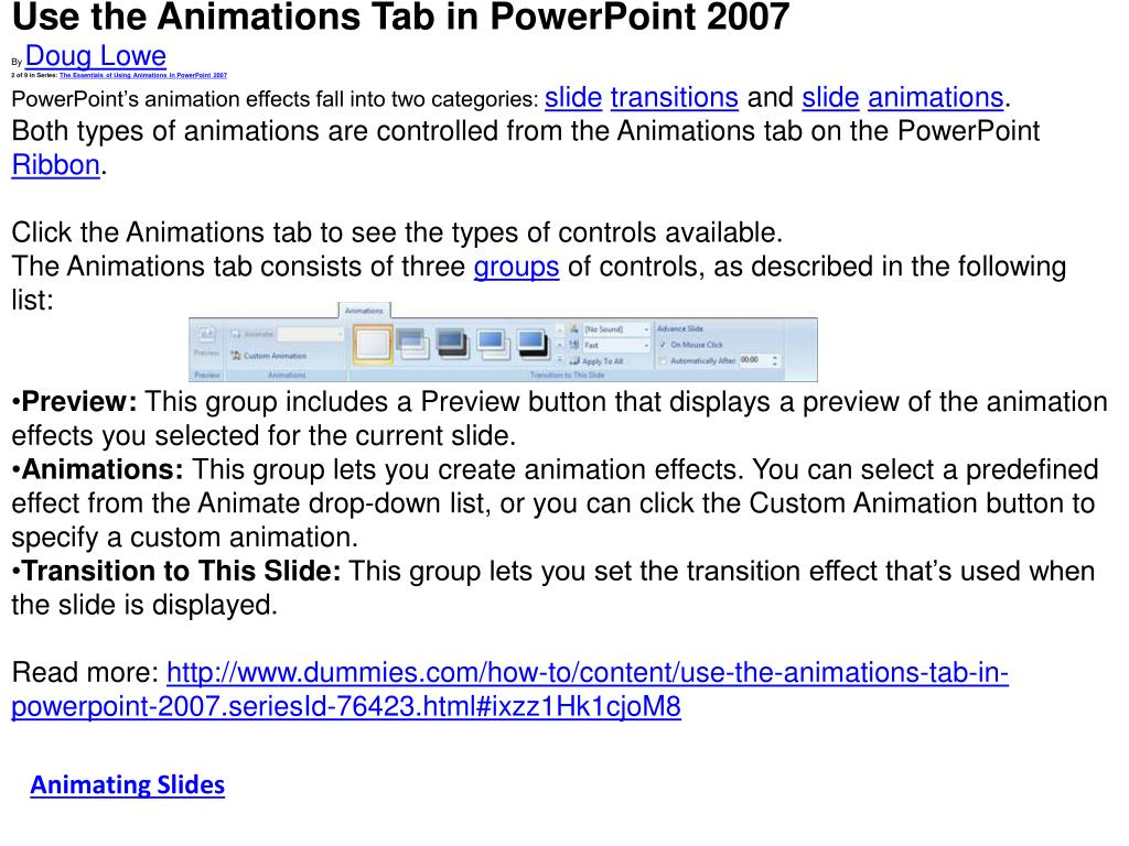 PPT - Embed sound in PowerPoint 2007 Posted by Meldun