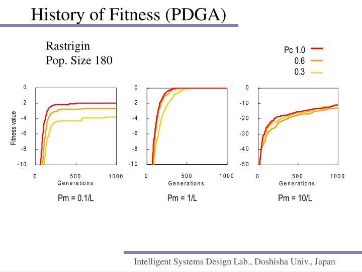History of Fitness (PDGA)