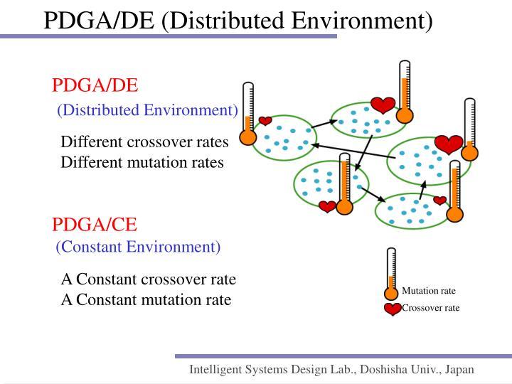 PDGA/DE (Distributed Environment)