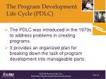 the program development life cycle pdlc