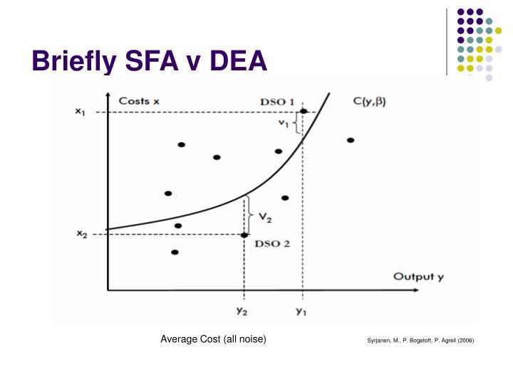 Briefly SFA v DEA
