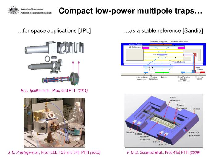 Compact low-power multipole traps…