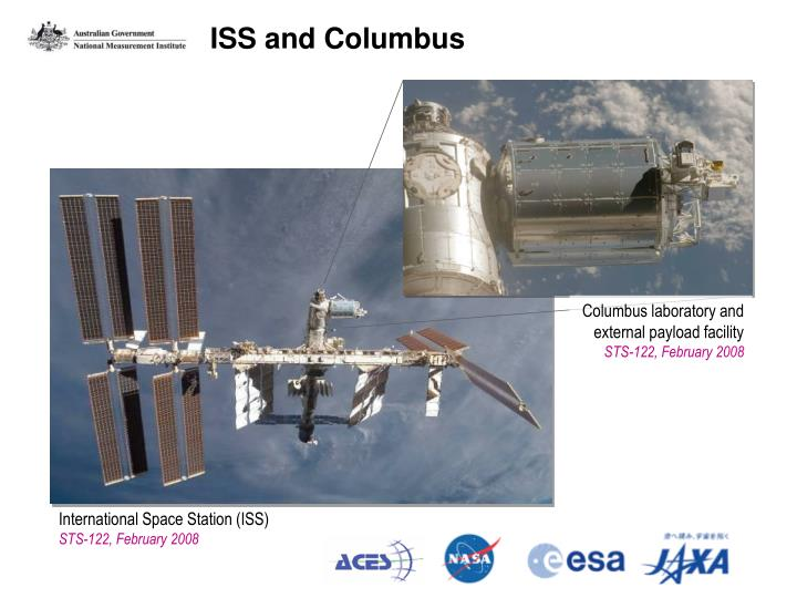 ISS and Columbus