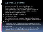 supercell storms