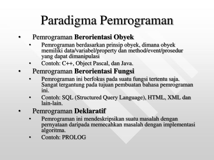 Ppt Ti1063 Algoritma Dan Pemrograman Powerpoint Presentation Id