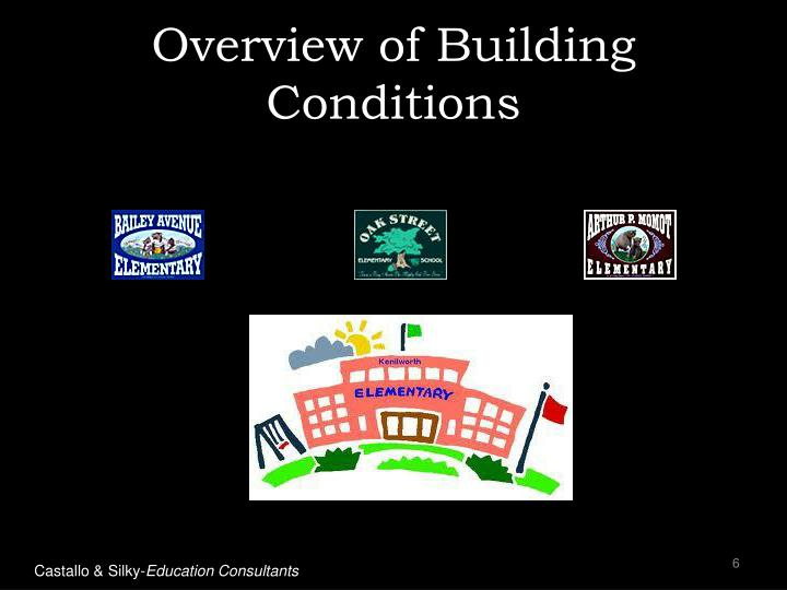 Overview of Building Conditions