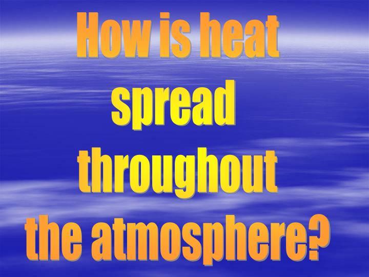 How is heat