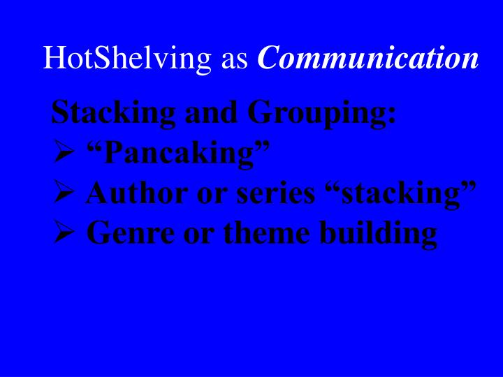 HotShelving as