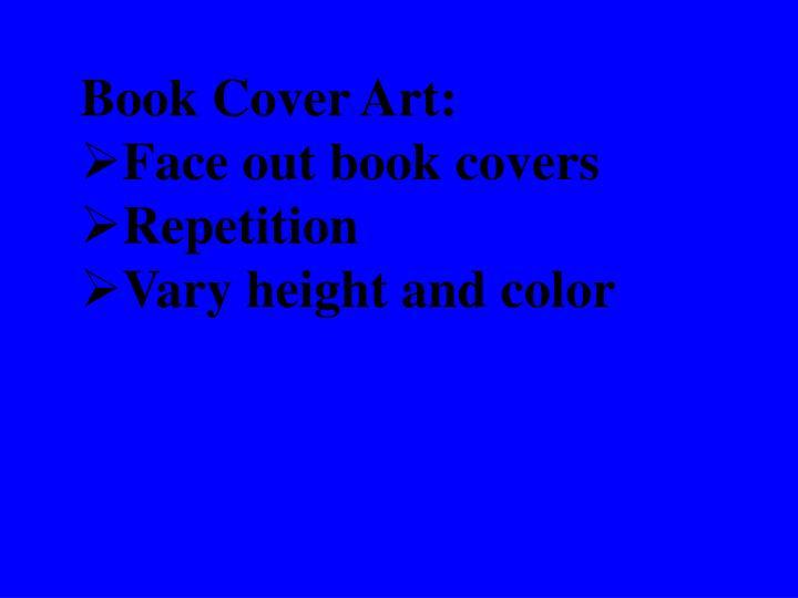 Book Cover Art: