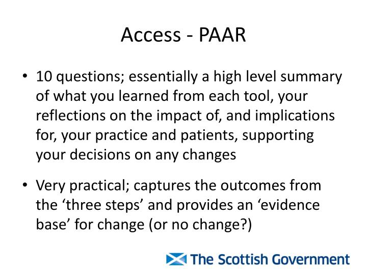 Access - PAAR