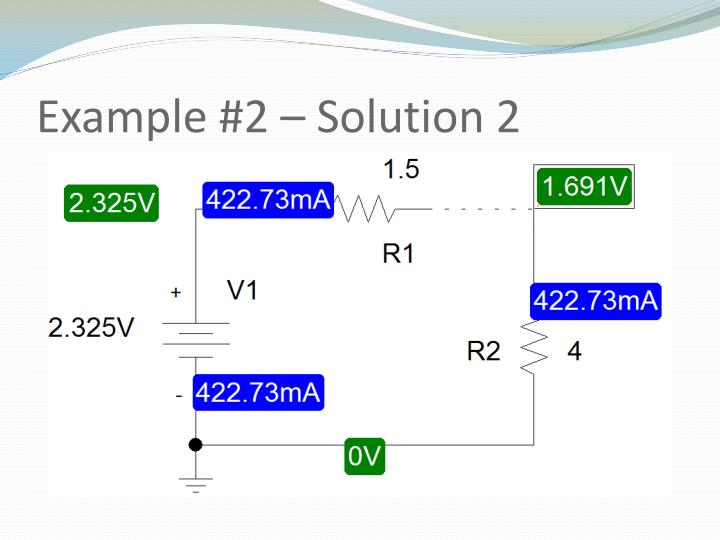 Example #2 – Solution 2