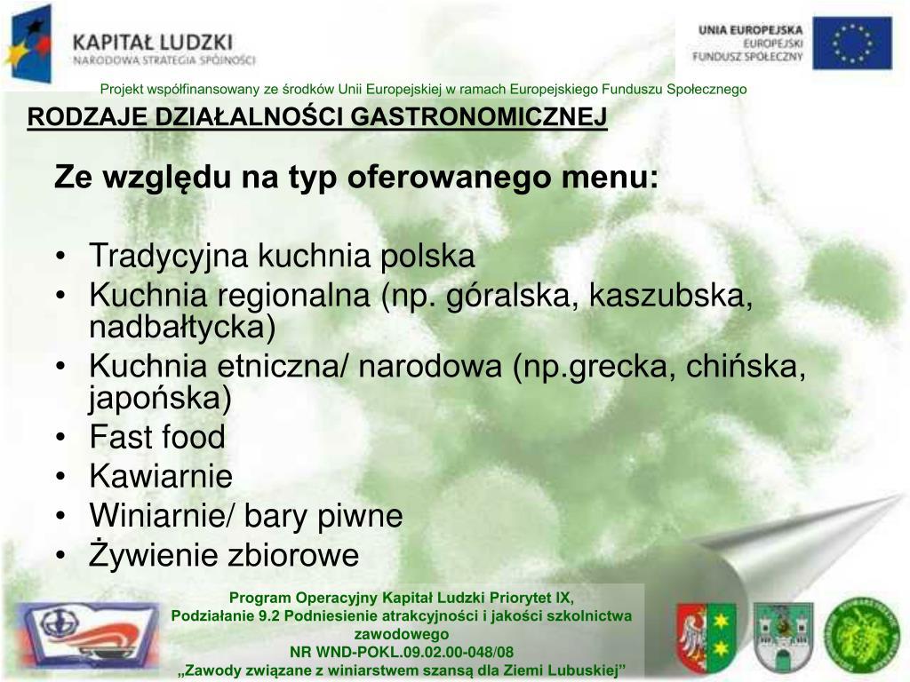 Ppt Kawiarnia I Kafeteria Powerpoint Presentation Id7069082