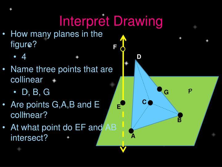 Interpret Drawing