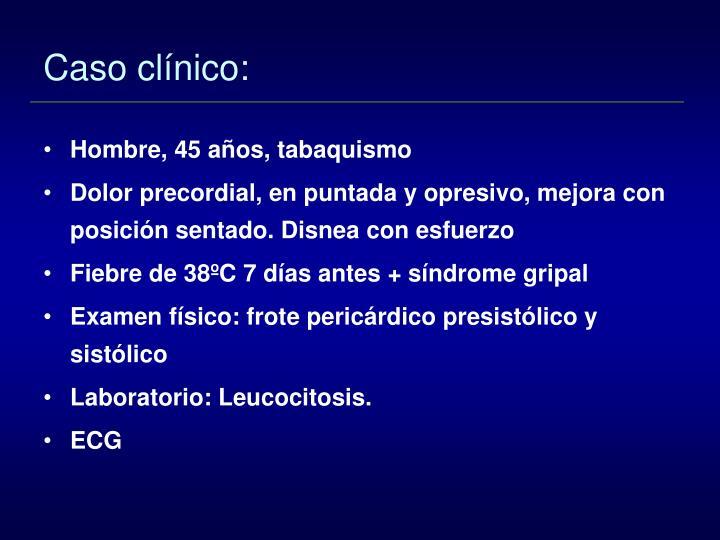 Caso clínico: