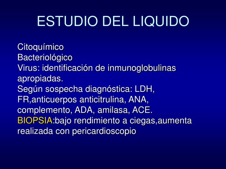 ESTUDIO DEL LIQUIDO