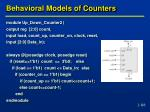 behavioral models of counters3