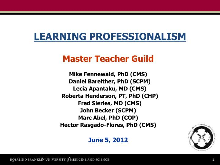 ppt learning professionalism powerpoint presentation id 7069791