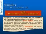 normativa il t u d p r 28 12 2000 n 4455