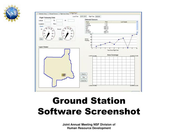 Ground Station Software Screenshot