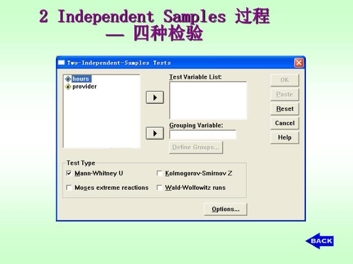 2 Independent Samples