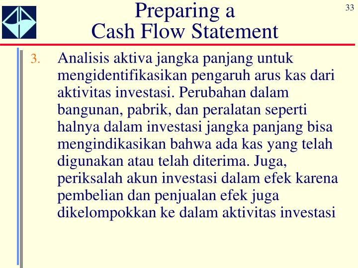 Preparing a