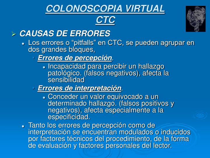 COLONOSCOPIA VIRTUAL